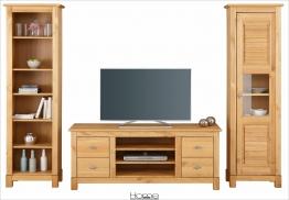 Home affaire Landhaus Wohnwand (3-tlg.) natur »Rauna« FSC®-zertifiziert natur