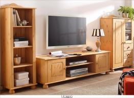 Home affaire Massivholz Wohnwand (3-tlg.) natur »Mette« FSC®-zertifiziert natur