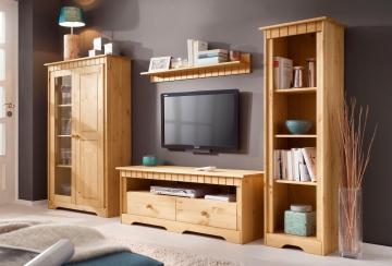 Home affaire Wohn-Wand »Poehl« beige, pflegeleichte Oberfläche, FSC®-zertifiziert beige