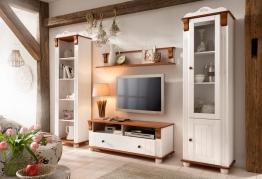 Home Affaire Wohnwand »Adele«, weiß, pflegeleichte Oberfläche weiß