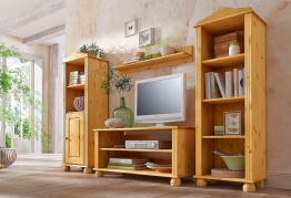 Home affaire Wohnwand beige, »Mette«, FSC®-zertifiziert