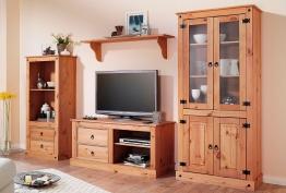 Home affaire Wohnwand beige, mit Schubkästen, FSC®-zertifiziert