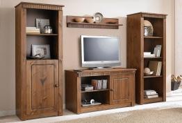 Home affaire Wohnwand braun, FSC®-zertifiziert braun