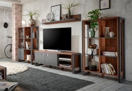 Home affaire Wohnwand »Detroit Set 1« braun, FSC®-zertifiziert braun