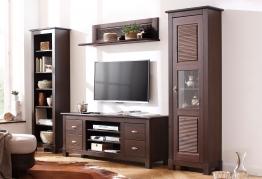Home Affaire Wohnwand »Rauna«, braun, pflegeleichte Oberfläche braun