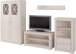 Home affaire Wohnwand weiß, FSC®-zertifiziert weiß