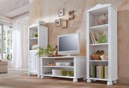 Home affaire Wohnwand weiß, »Mette«, FSC®-zertifiziert weiß