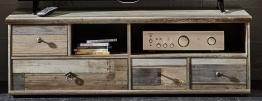 Tv-unterteil Driftwood Mit Schubkästen Woody 22-01218 Braun Holz Vintage braun