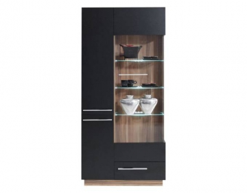 vitrine 90 cm breit wohnw nde zum bestpreis kaufen. Black Bedroom Furniture Sets. Home Design Ideas