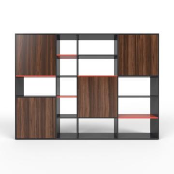 wohnwand schwarz mdf konfigurierbar schwarz. Black Bedroom Furniture Sets. Home Design Ideas