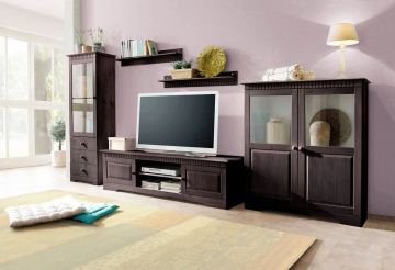 wohnwand skagen home affaire wohnw nde zum bestpreis kaufen. Black Bedroom Furniture Sets. Home Design Ideas