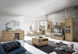 Wohnzimmer In Navarra-eiche Woody 121-00523 Holz Modern
