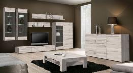Wohnzimmer Sandeiche Woody 77-00588 Holz modern